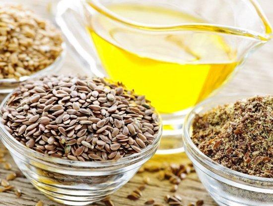 Продукты из семян льна полезны