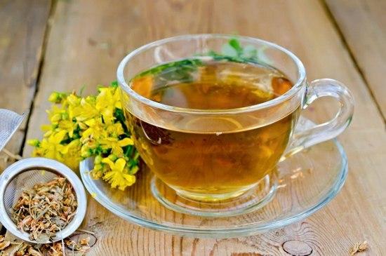 чай из зверобоя польза