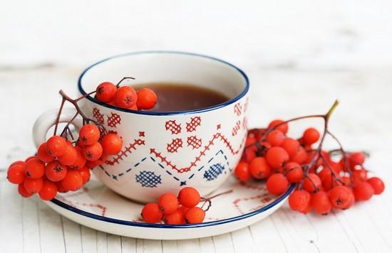 чай из рябины