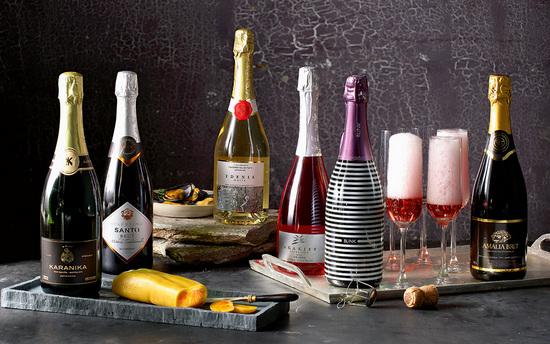 Игристое и полусладкое вино: польза и вред