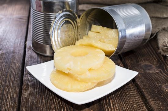 Консервированные ананасы: польза и вред