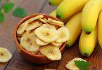 В чем вред банановых чипсов?