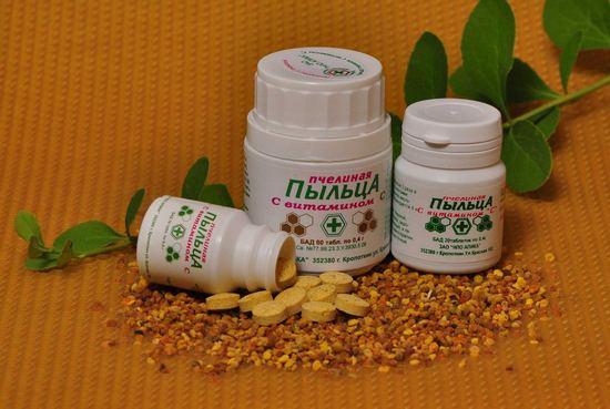 Пчелиная пыльца: польза и вред