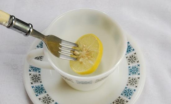 лимон с сахарным песком