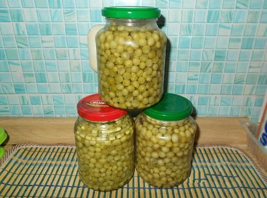 Зеленый горошек консервированный: польза и вред