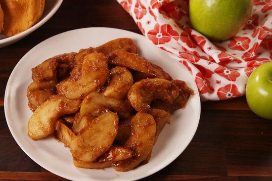 блюда из яблок: польза и вред