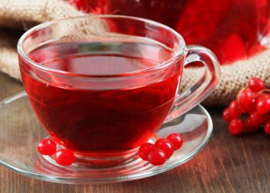 Чай из калины: польза и вред
