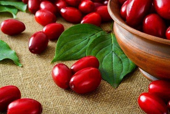 Кизил: польза и вред плодов