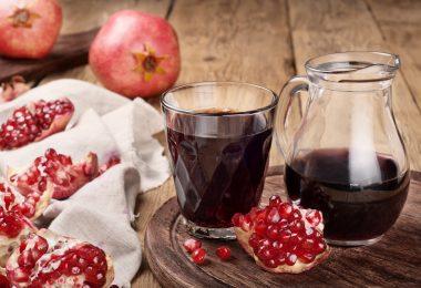 Гранатовый сок: польза