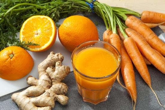 Употребление каротинового сока при лечении печени