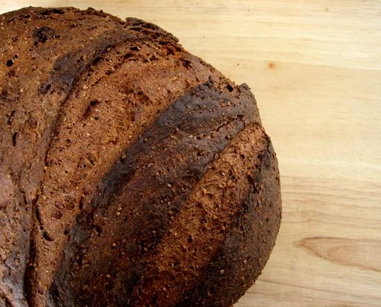 В состав солодового хлебушка входят два сорта муки