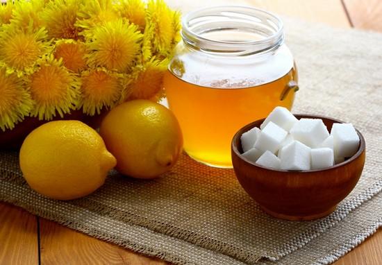 Лимон + одуванчики