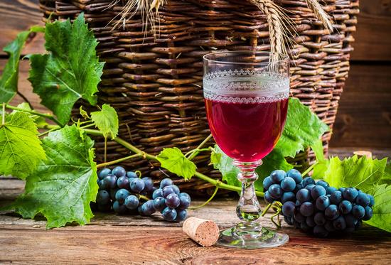 Сухое вино: польза и вред