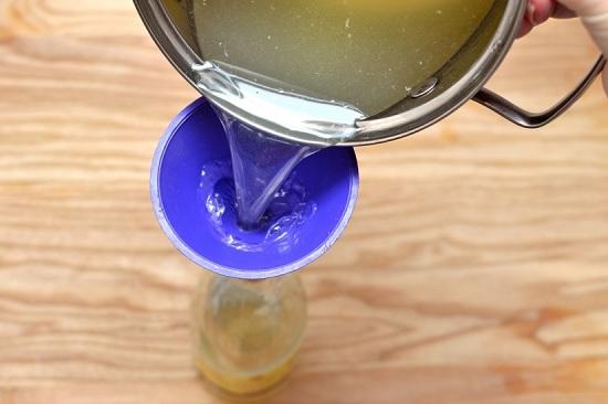 Сироп на основе лимонов