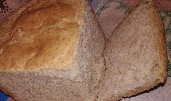приготовление хлебушка в хлебопечи