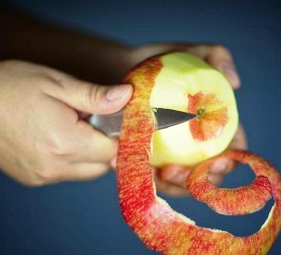 Яблочки промоем, просушим