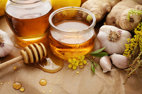чеснок и мед