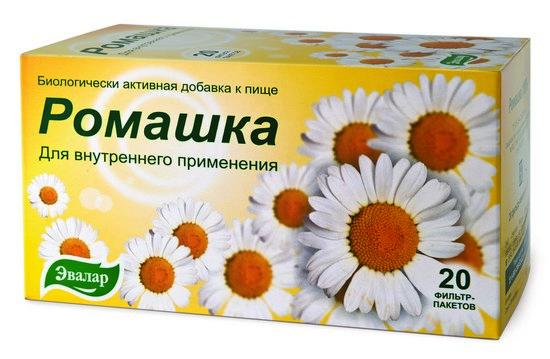 Ромашковый чай как лекарство